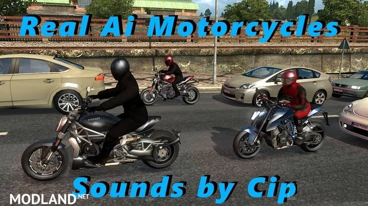 Sounds for Motorcycle Traffic Pack ATS