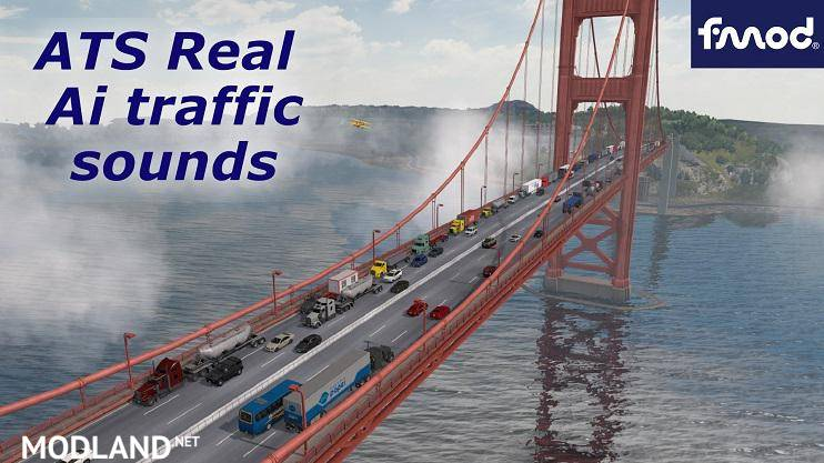 ATS Real Ai Traffic Engine Sounds for SCS v1.37.b  [1.37]