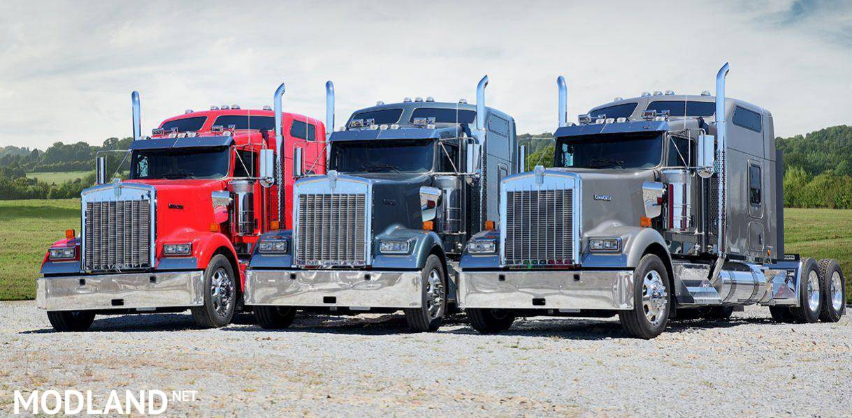 REAL ENGINE SOUNDS FOR SCS KENWORTH TRUCKS