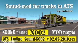 Sound mod for engine in ATS 1.34.x, 1 photo