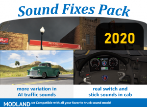 Sound Fixes Pack v20.0 ATS 1.36