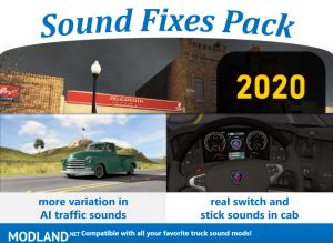 Sound Fixes Pack v20.0 ATS 1.36, 1 photo