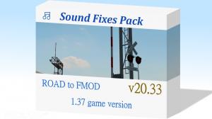 Sound Fixes Pack v20.33  ATS  1.37, 1 photo