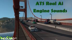 Pure Sounds! ATS Real Ai Traffic Engine Sounds by Cip 1.36, 1 photo