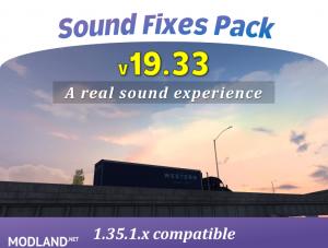 Sound Fixes Pack v19.33 ATS