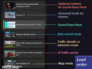 Sound Fixes Pack v 19.26 ATS , 3 photo