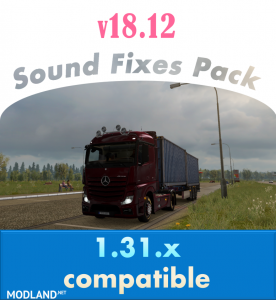 Sound Fixes Pack v 18.12, 1 photo