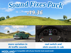 Sound Fixes Pack v19.36 ATS