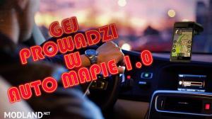 POLISH VOICE GEJ PROWADZI W AUTO MAPIE 1.0
