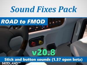 Sound Fixes Pack v20.8 1.37, 1 photo