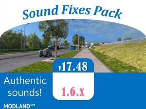 Sound Fixes Pack v 17.48 - External Download image
