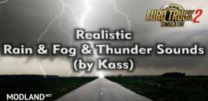 Realistic Rain & Thunder Sounds v 1.0