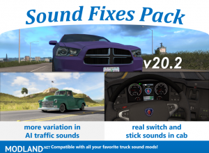 Sound Fixes Pack v20.2 ATS (1.36), 1 photo
