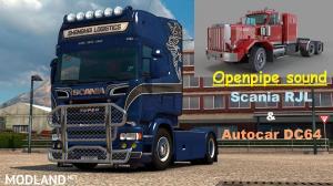 Openpipe sound Scania RJL & Autocar DC64, 1 photo