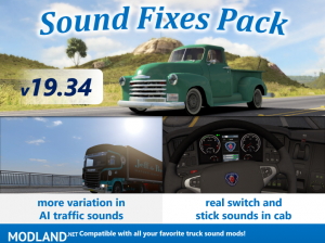 Sound Fixes Pack v19.34 ATS, 1 photo