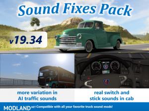 Sound Fixes Pack v19.34 ATS