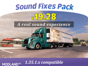 Sound Fixes Pack v19.28 ATS 1.35, 1 photo