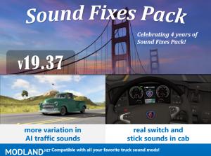 Sound Fixes Pack v19.37 ATS