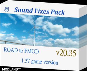 Sound Fixes Pack v20.35 ATS 1.37, 1 photo