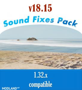 Sound Fixes Pack v 18.15.2