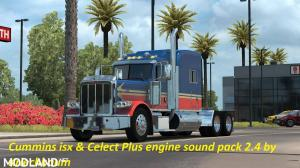 Cummins iSX and Celect PLUS sound pack 2.4