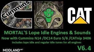 MORTAL'S Lope Idle Engines & Sounds v 6.4 ATS & ETS2, 1 photo