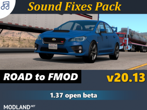 Sound Fixes Pack v20.13 1.37, 1 photo