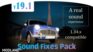 Sound Fixes Pack v19.1 - ATS 1.34, 1 photo