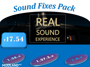 Sound Fixes Pack v 17.54 - ATS , 1 photo