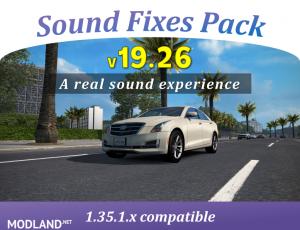 Sound Fixes Pack v 19.26 ATS , 1 photo