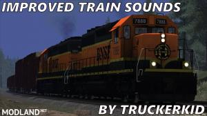 Improved Train Sounds v 2.3 ATS 1.29.x – 1.32.x, 1 photo