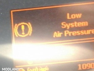Low Air Pressure Warning replacement sound