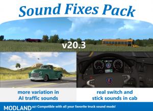 Sound Fixes Pack v20.3 1.36