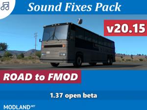 Sound Fixes Pack v20.15 1.37, 1 photo