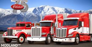 REAL ENGINE SOUNDS FOR SCS PETERBİLT TRUCKS 1.36.x, 1 photo