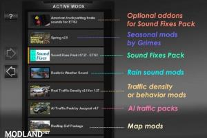Sound Fixes Pack v 17.80, 2 photo
