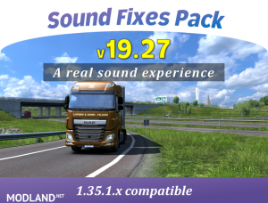 Sound Fixes Pack v19.27 ATS, 1 photo