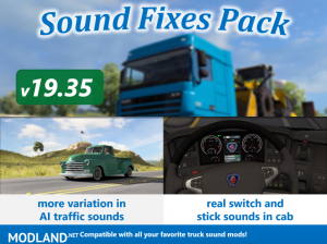 Sound Fixes Pack v19.35 ATS, 1 photo