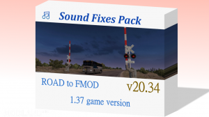 Sound Fixes Pack v 20.34 ATS 1.37, 1 photo