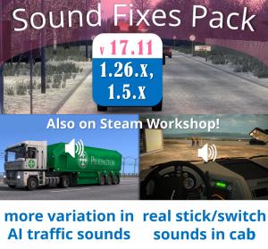 Sound Fixes Pack v 17.11, 2 photo
