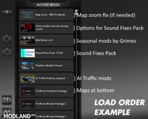 Sound Fixes Pack v 17.11, 1 photo