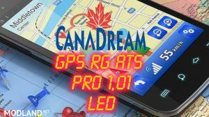 GPS RG ATS PRO 1,01 Led CanaDream , 1 photo