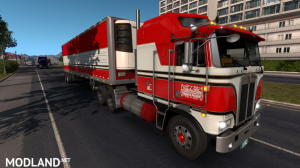 BJ and The Bear truck skin for Kenworth K100E and trailer, 2 photo