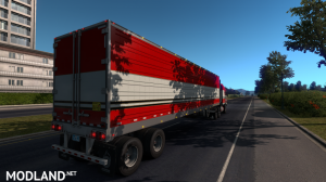 BJ and The Bear truck skin for Kenworth K100E and trailer, 4 photo
