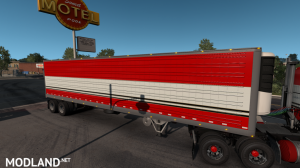 BJ and The Bear truck skin for Kenworth K100E and trailer, 5 photo