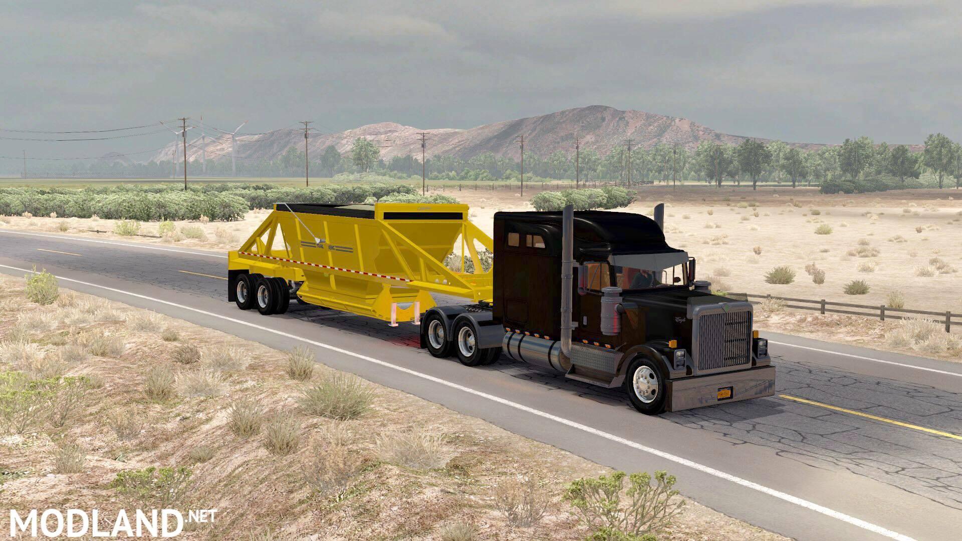 Ownable dump trailer Trail King TKBD22-362 mod for American
