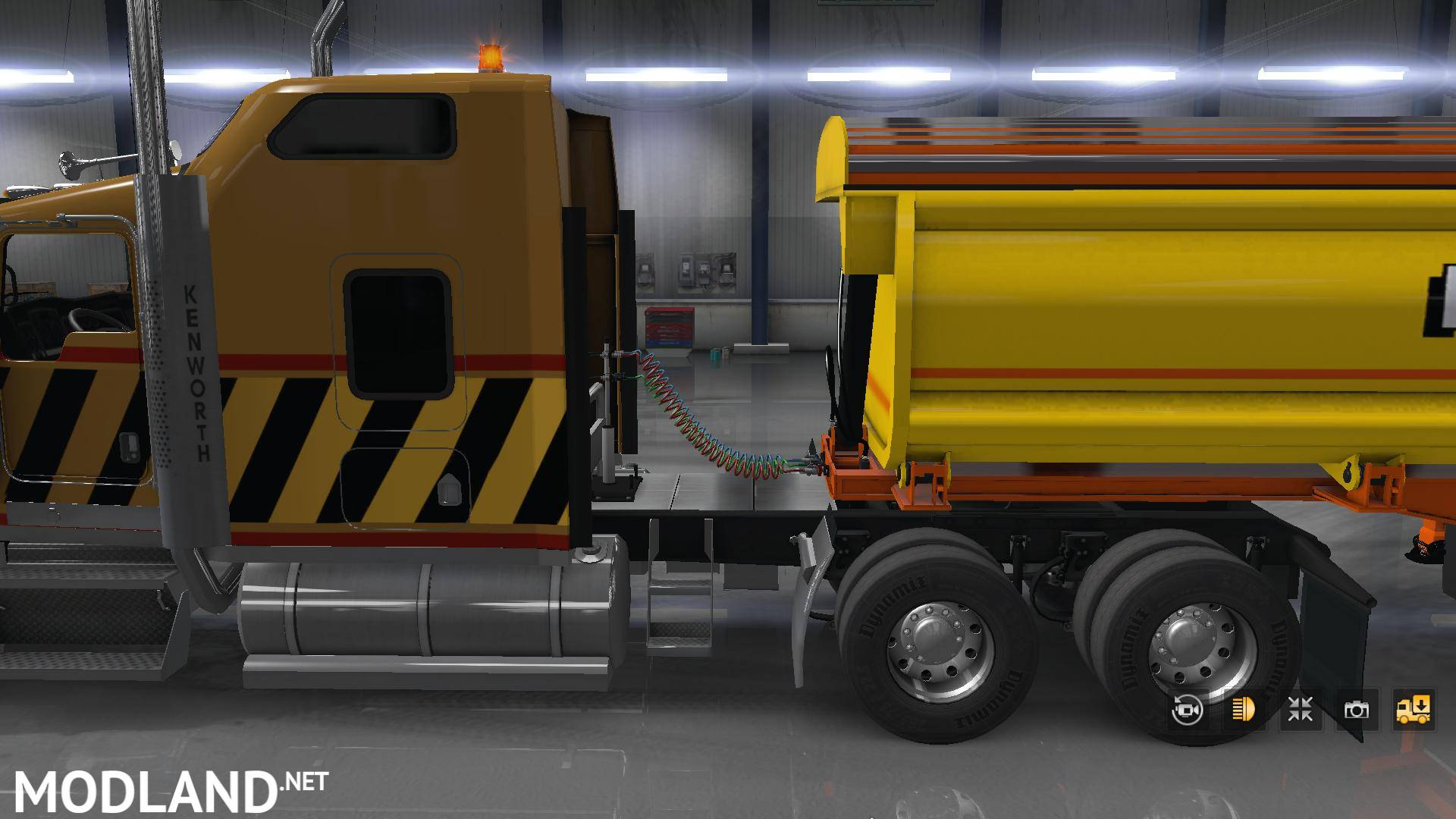Howard Quarter Side Tipper V 1 1 Mod For American Truck