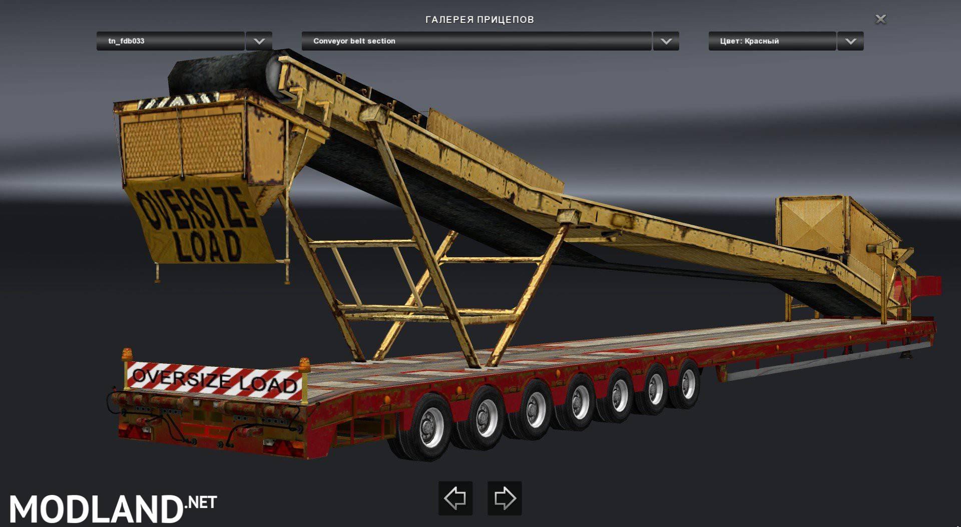 Oversized Trailers Evo Pack mod for American Truck Simulator