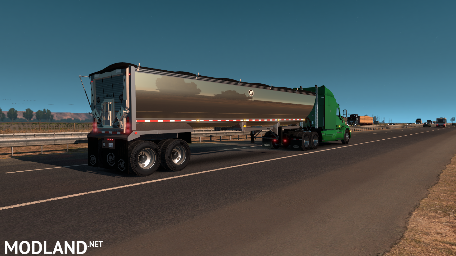 Mac Simizer Dump Trailer Mod For American Truck Simulator Ats