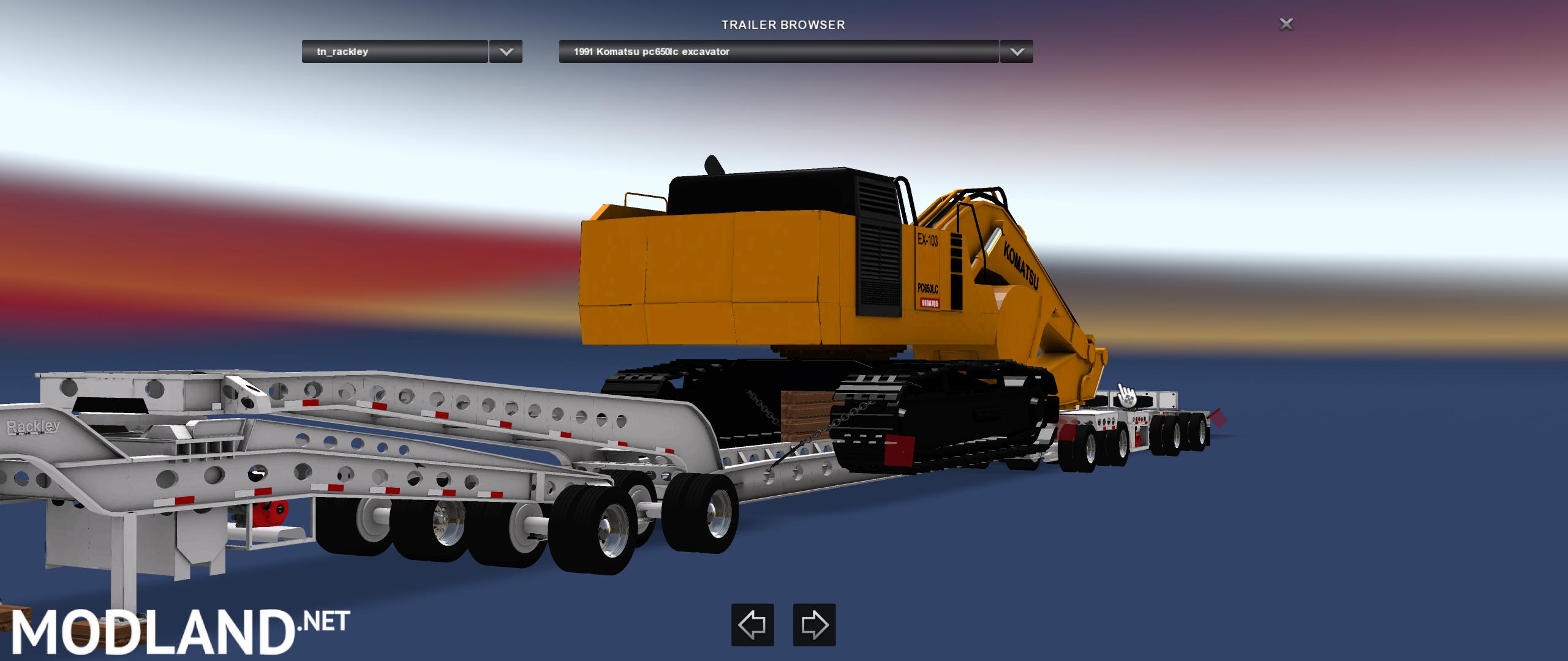 Rackley 9 Axle mod for American Truck Simulator, ATS